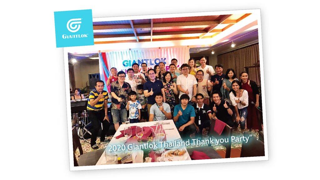 2020 Giantlok Thailand Thank you Party