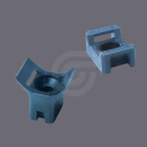 Metal Detectable Saddle Tie Mounts